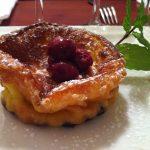 Recette de clafoutis aux raisins de sultanine et à l'Armagnac