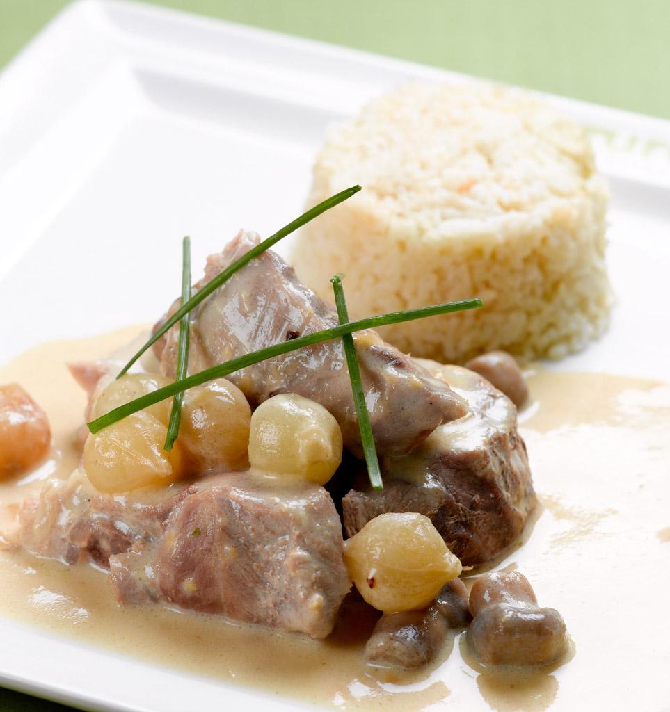 recette de bistrot la blanquette de veau à l'ancienne du mesturet